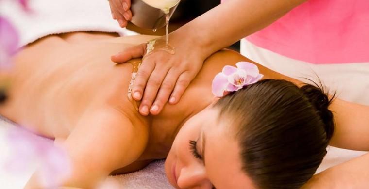 Warm Candle Massage